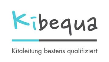 Logo: Kibequa – Kitaleitung bestens qualifiziert