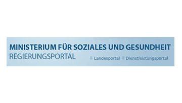 Logo: Ministerium für Soziales und Gesundheit Land Mecklenburg-Vorpommern