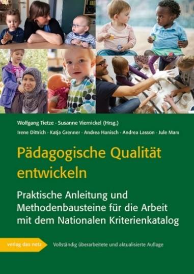 """Titelbild der Broschüre """"Pädagogische Qualität entwickeln"""""""