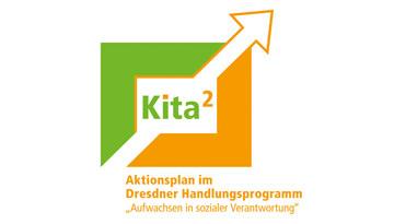 """Logo des Aktionsplans """"Verbesserte Ressourcen Kita"""""""