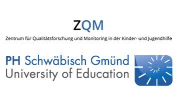 Logo ZQM und Logo Pädagogische Hochschule (PH) Schwäbisch Gmünd