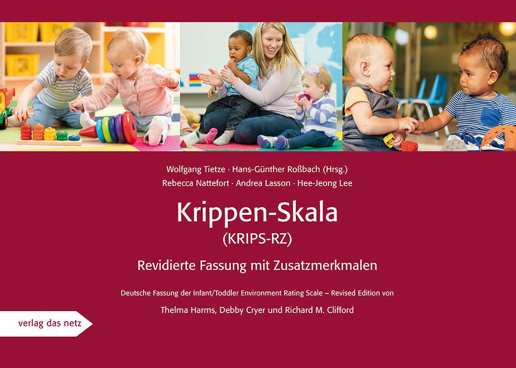 Titelblatt der Publikation Krippen-Skala