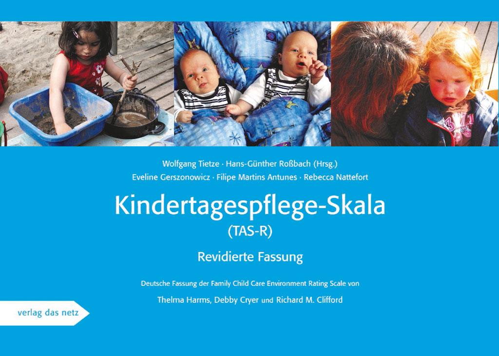 Titelblatt der Publikation Kindertagespflege-Skala